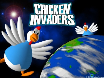 بازی زیبای  Chicken Invaders 4 Ultimate